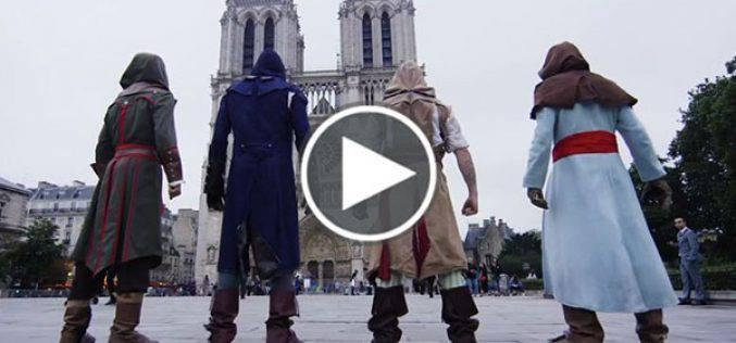 Assassin's Creed nella vita reale, ecco l'incredibile video girato a Parigi