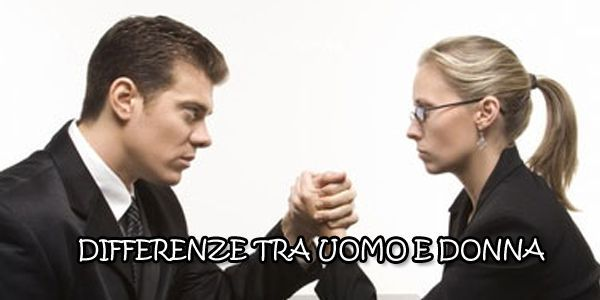 Differenze tra uomo e donna