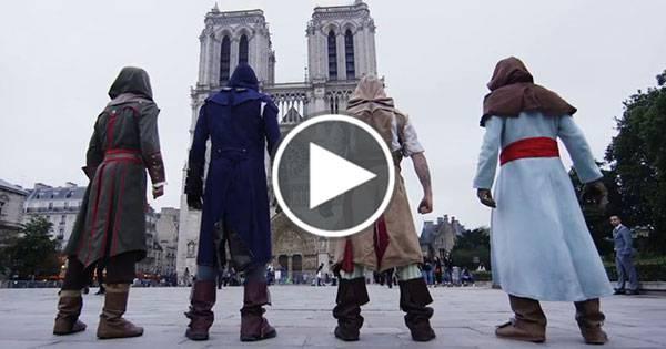 Assassin's Creed nella vita reale