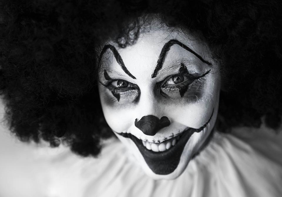 Coulrofobia: la paura dei clown